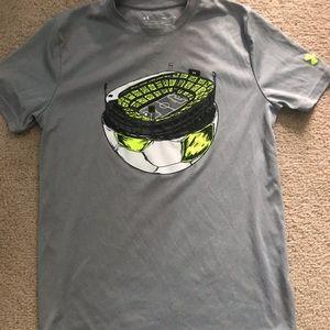 2/$10 Boy's Under Armour Soccer shirt